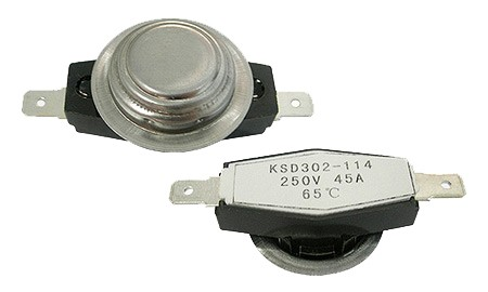 "3/4"" bimetal disc thermostats  » KSD302-114"